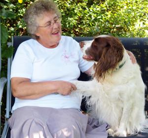 Senior Lady & Dog